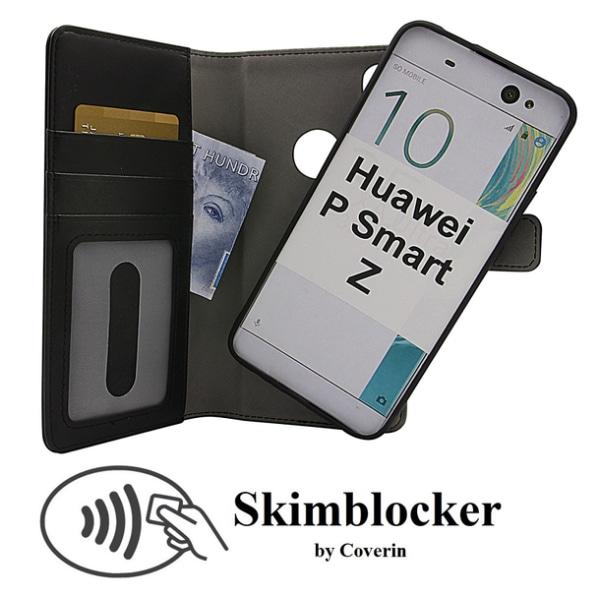 Skimblocker Magnet Wallet Huawei P Smart Z