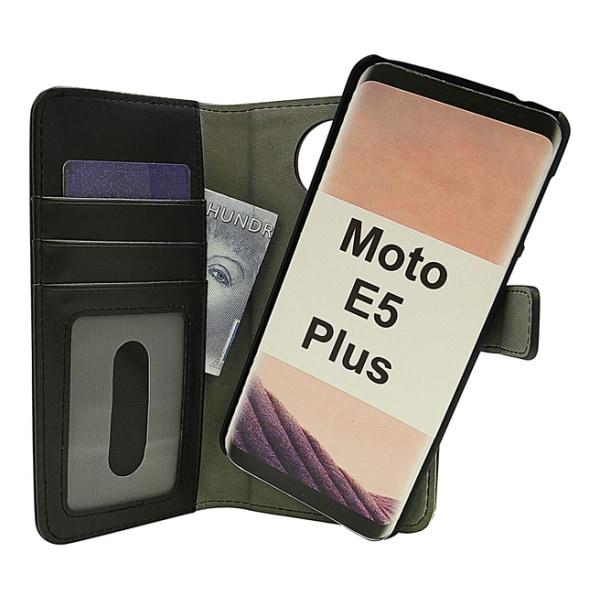 Skimblocker Magnet Wallet Motorola Moto E5 Plus Lila