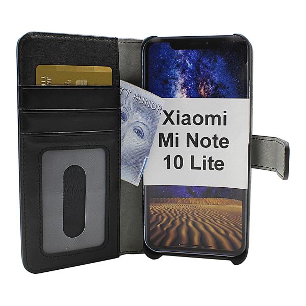 Skimblocker Magnet Wallet Xiaomi Mi Note 10 Lite (Svart)