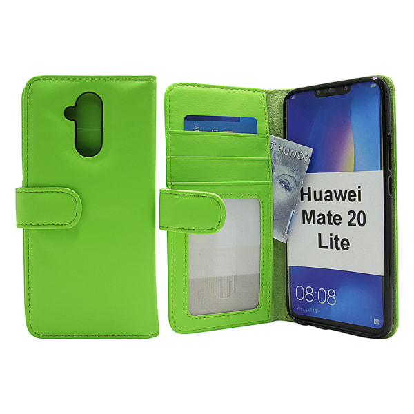 Skimblocker Plånboksfodral Huawei Mate 20 Lite Svart