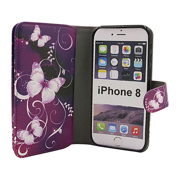 Skimblocker XL Magnet Designwallet iPhone 8