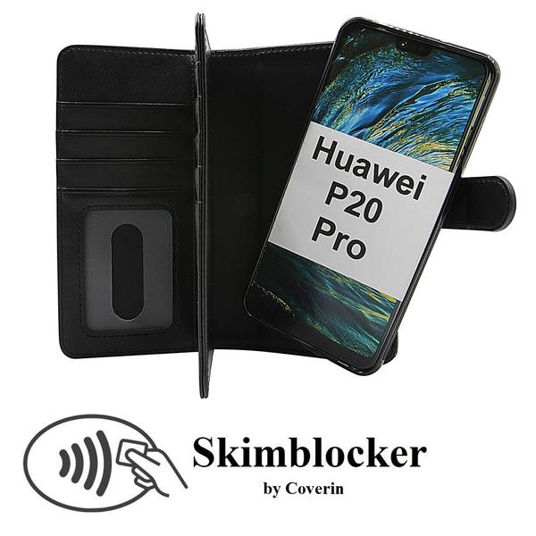 Skimblocker XL Magnet Wallet Huawei P20 Pro (CLT-L29)
