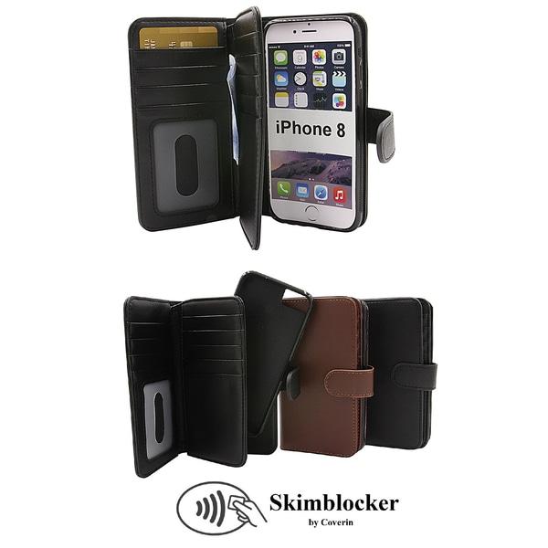 Skimblocker XL Magnet Wallet iPhone 8 Röd G673