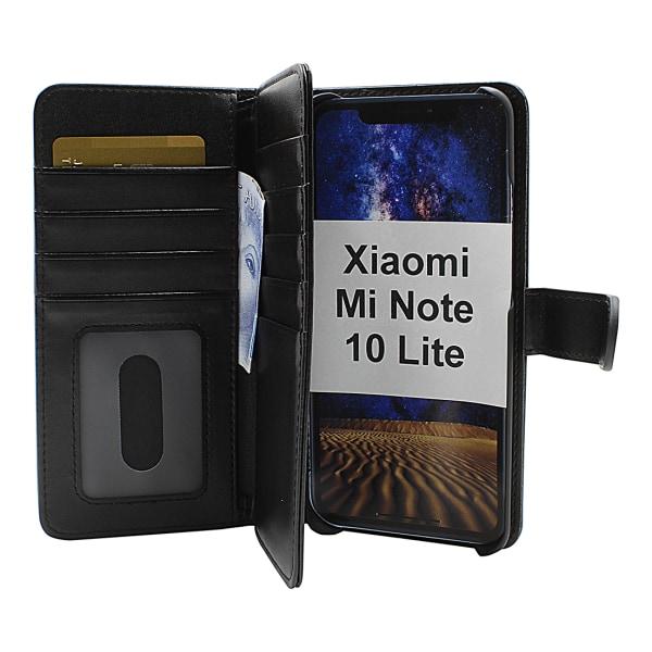 Skimblocker XL Magnet Wallet Xiaomi Mi Note 10 Lite (Svart)
