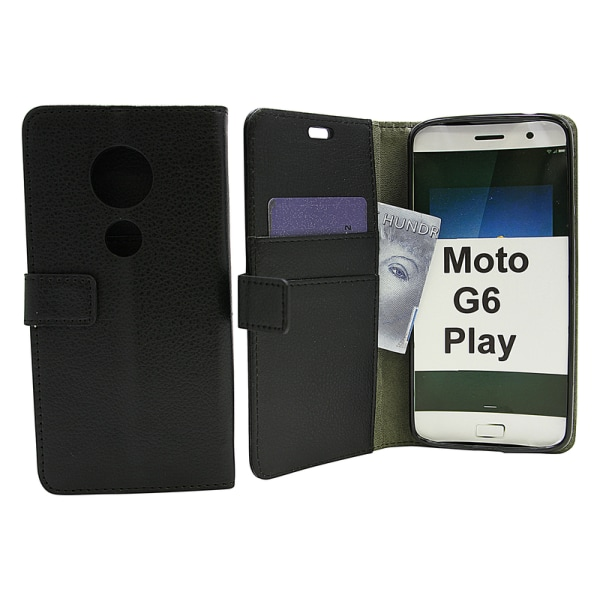Standcase Wallet Motorola Moto G6 Play Vit
