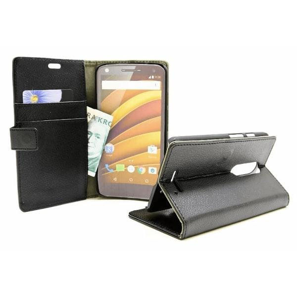Standcase Wallet Motorola Moto X Force Hotpink