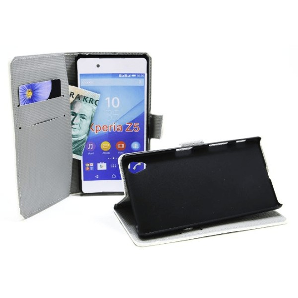 Standcase Wallet Sony Xperia Z5 (E6653)
