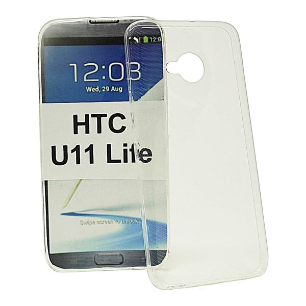 Ultra Thin TPU skal HTC U11 Life