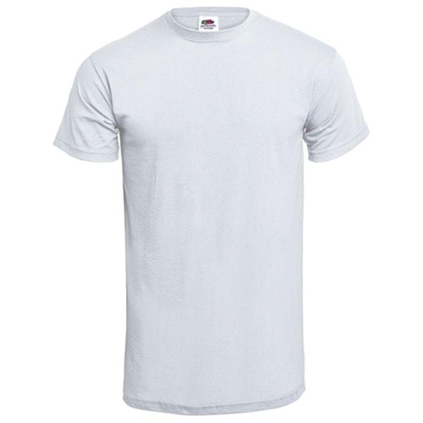 Barn T-shirt - Min faster är världens bästa Grå 104cl 3-4år