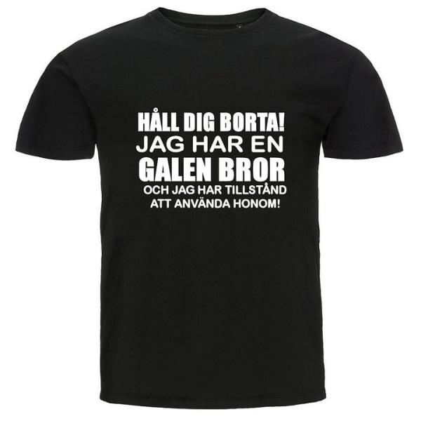 T-shirt - Galen bror Gul 5XL