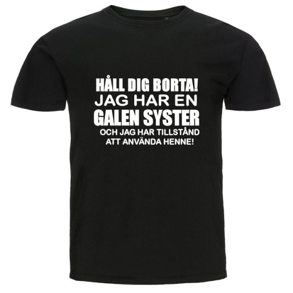 T-shirt - Galen syster Blå L