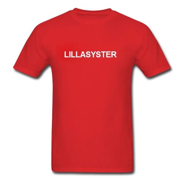 T-shirt - Lillasyster Svart 152cl 12-13år