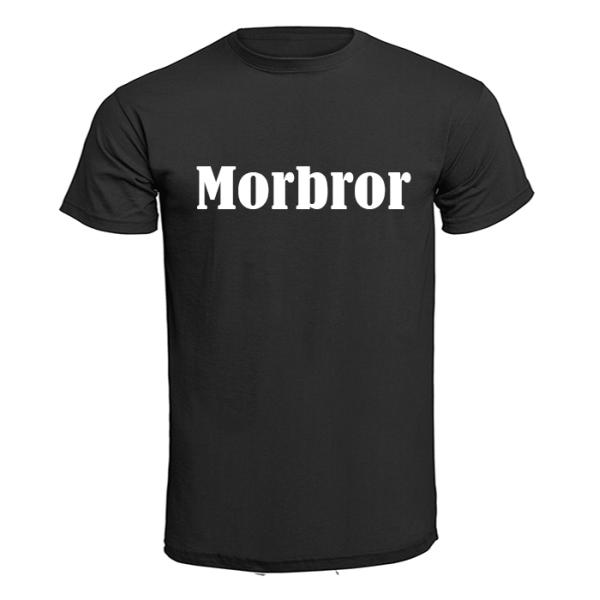 T-shirt - Morbror Svart 5XL