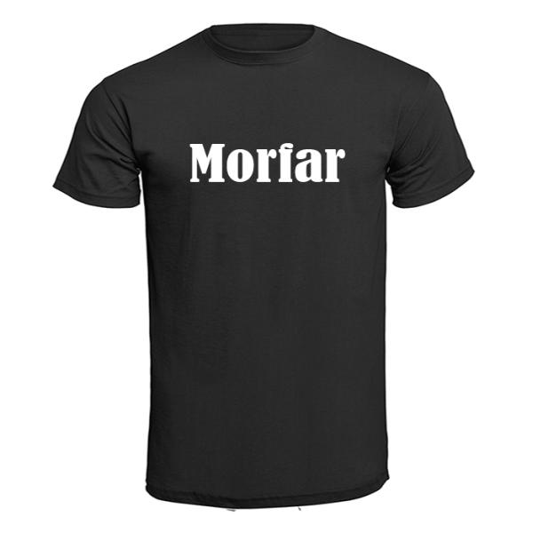 T-shirt - Morfar Röd 5XL