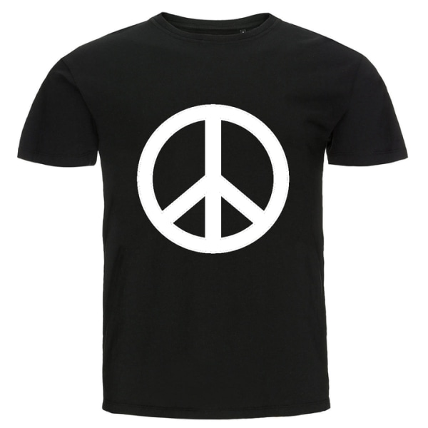 T-shirt - Peace Ljusblå 104cl 3-4år