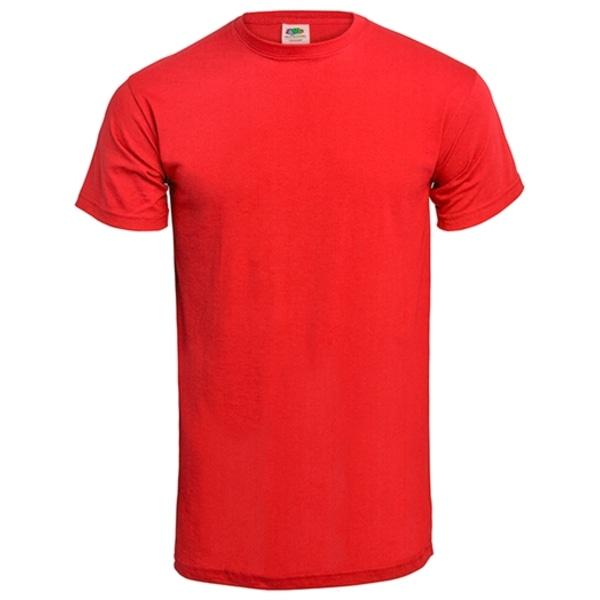 T-shirt - Så här ser en blivande farbror ut Röd M