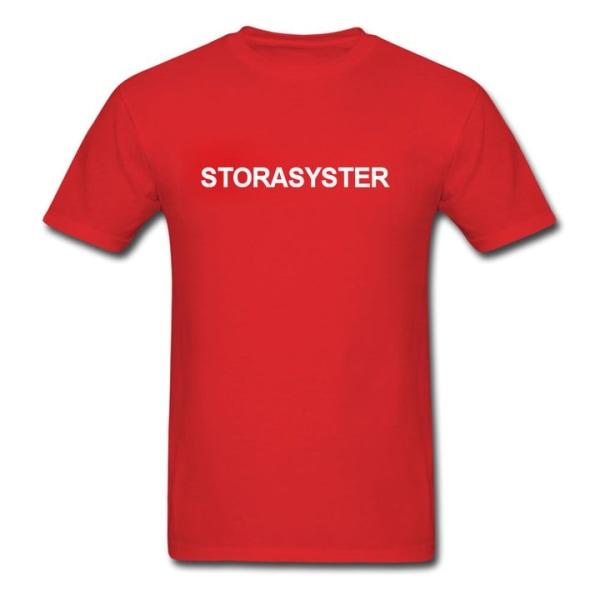 T-shirt - Storasyster Grå 116cl 5-6år
