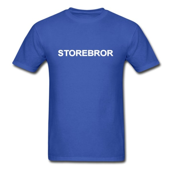 T-shirt - Storebror Grå 104cl 3-4år
