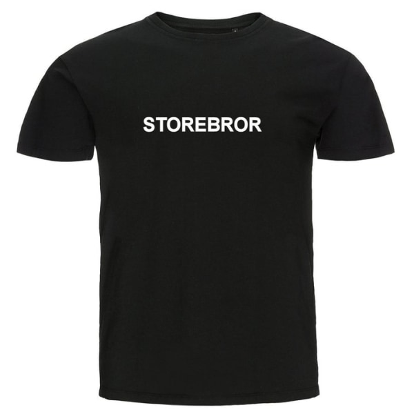 T-shirt - Storebror Gul 104cl 3-4år