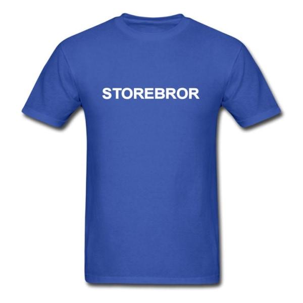 T-shirt - Storebror Ljusgrön 104cl 3-4år