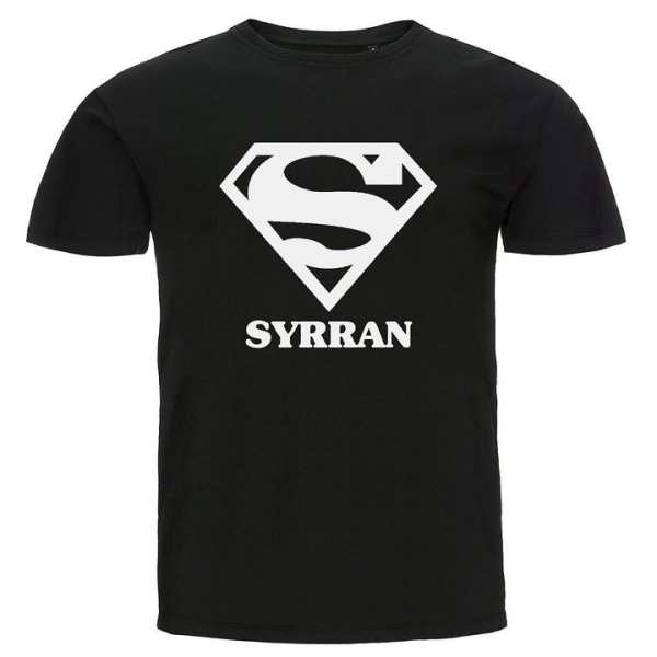 T-shirt - Super syrran Svart 152cl 12-13år