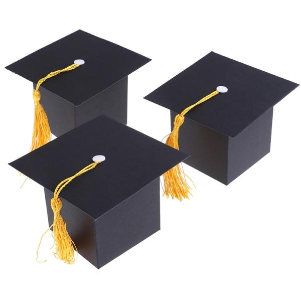 10st Creative Doctor Hat Cap Candy Box 2019 Graduation Celebra