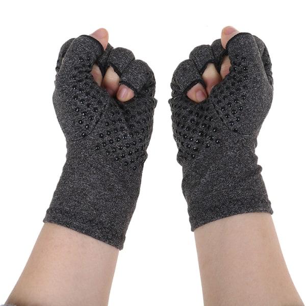 1Pair Arthritis Fit Kompressionshandskar Handstöd Arthritic J