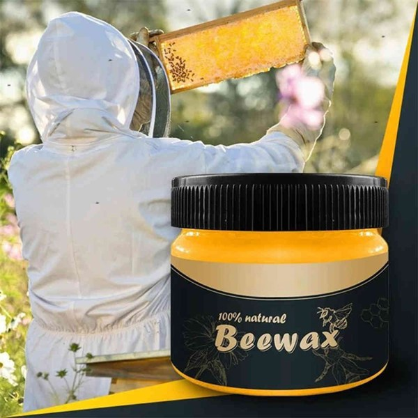 20g/80g Wood Seasoning Beewax Complete Solution Furniture Beeswa 80g