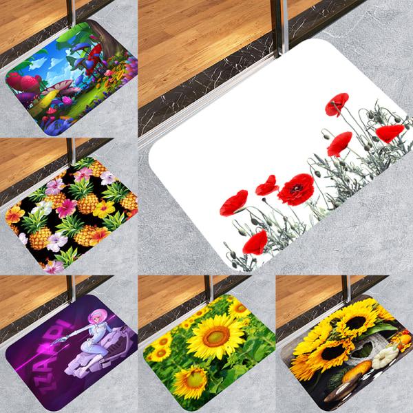 3D-mattor Badmatta Badmattor Anti-hal Köksmattor Badrumsmatta