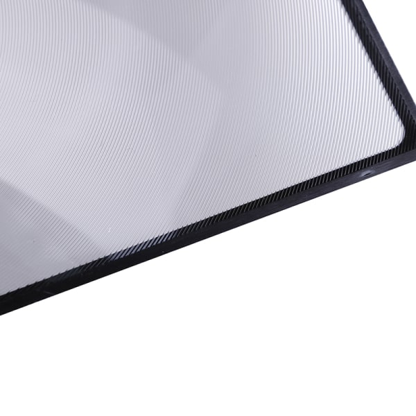A5 Flat PVC Magnifier Sheet X3 Book Page Magnifying Reading Gla one size