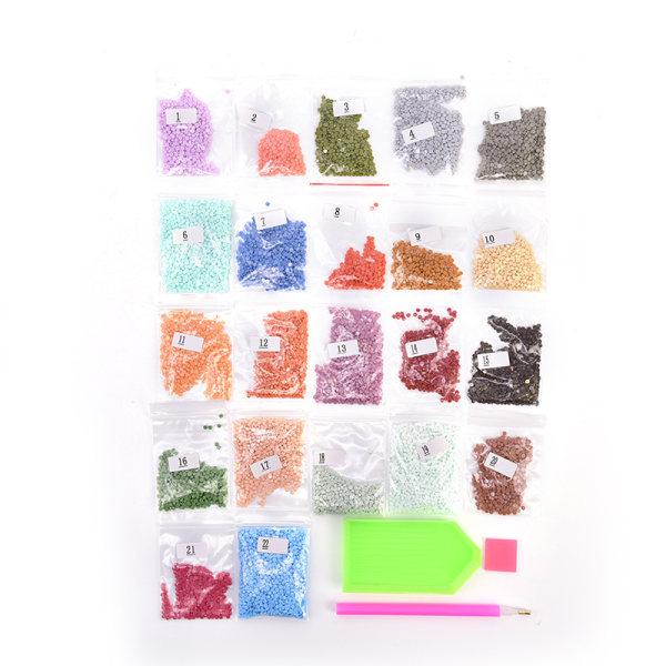 DIY 5D Diamond Embroidery Painting Cross Stitch Mosaic Seasons T 30*40CM