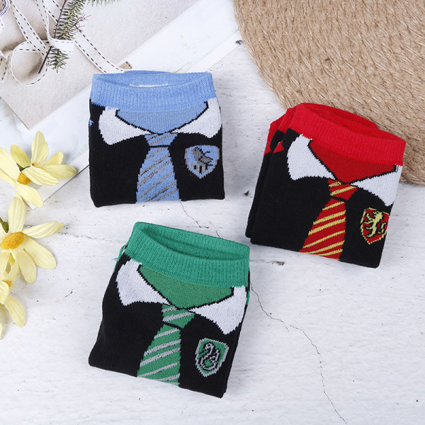 Magician Harry Potter socks Cosplay accessories cotton socks br 5#