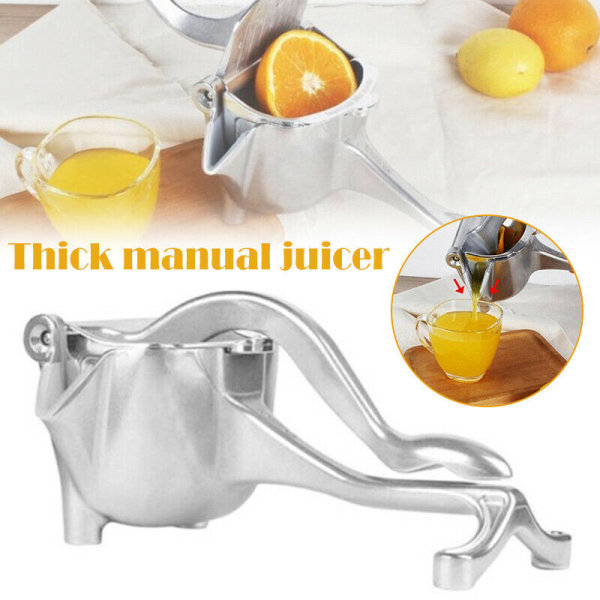 Manual Juicer Hand Juice Press Squeezer Fruit Juicer Extractor