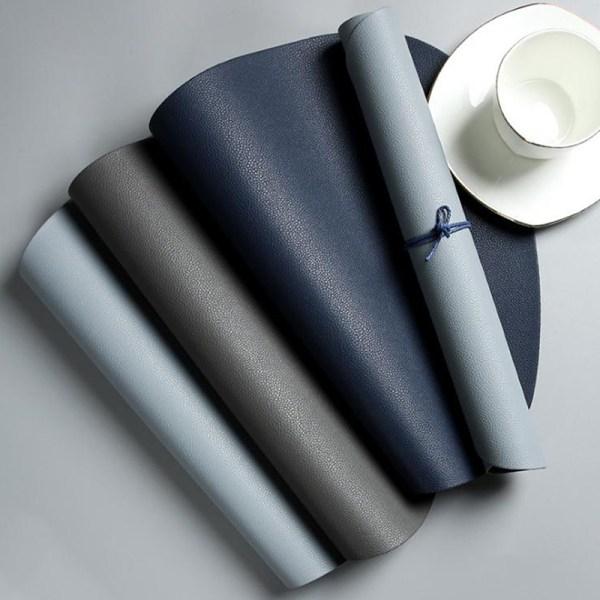 Plåtbordsmatta Bordsduk PU-läder Vattentät värmeins