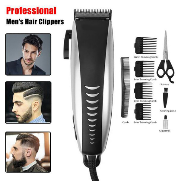 Professionella män elektriska hårklippare hårklippningsmaskin