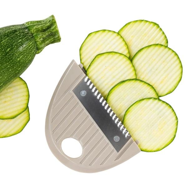 Mandolin med 5 Olika Skärblad Grön