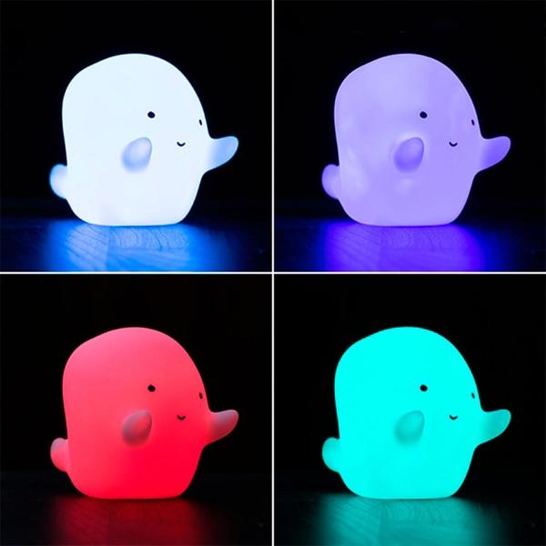 Nattlampa med LED i Olika Färger - Spöke