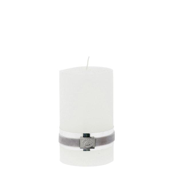 Lene Bjerre Blockljus Rustic Pillar Vit 12,5 cm