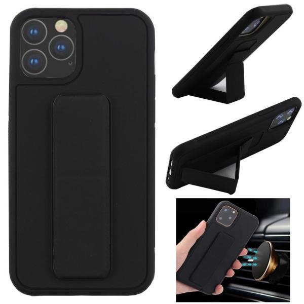 CF iPhone 11 Pro Max (6.5) Skal Med Handtag och Magnet (Svart) Svart