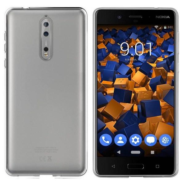 Colorfone Nokia 8 Skal (Transparent) Transparent
