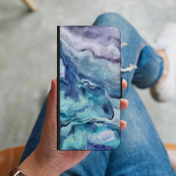 Huawei P40 Lite Plånboksskal Blur