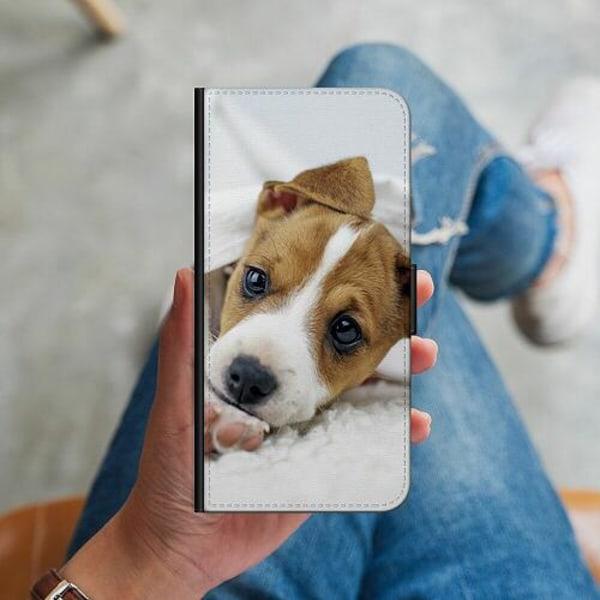 Huawei P40 Lite Plånboksskal Cute Puppy