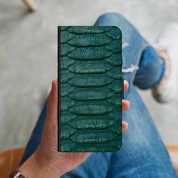 Huawei P40 Lite Plånboksskal Emerald Snake