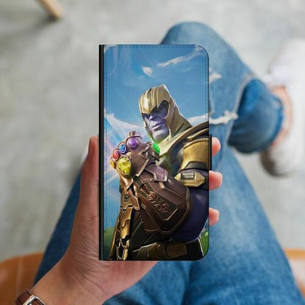 Huawei P40 Lite Plånboksskal Fortnite Thanos