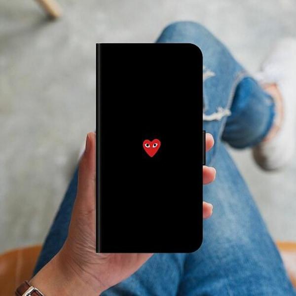 Huawei P40 Lite Plånboksskal Heart