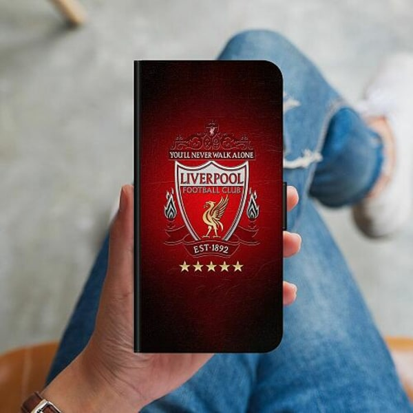 Huawei P40 Lite Plånboksskal YNWA Liverpool