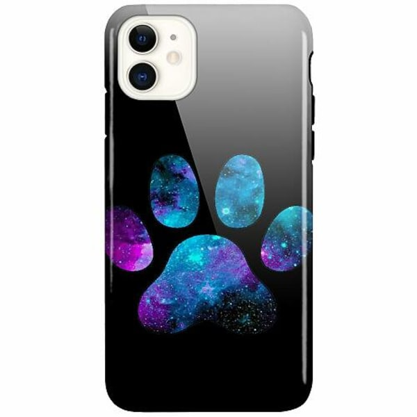 Apple iPhone 11 LUX Duo Case (Glansig)  Galaxy Paw