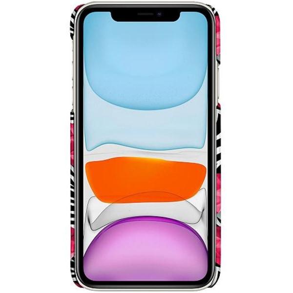 Apple iPhone 12 LUX Mobilskal (Matt) Diamond Hearts
