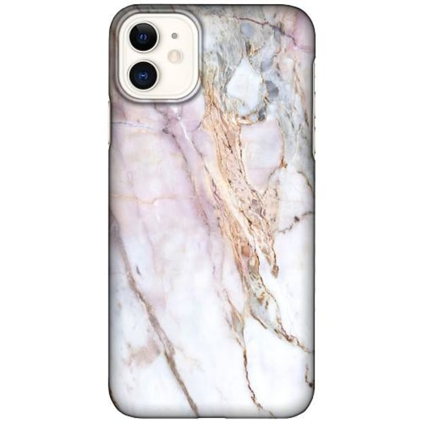 Apple iPhone 12 LUX Mobilskal (Matt) Light Marble