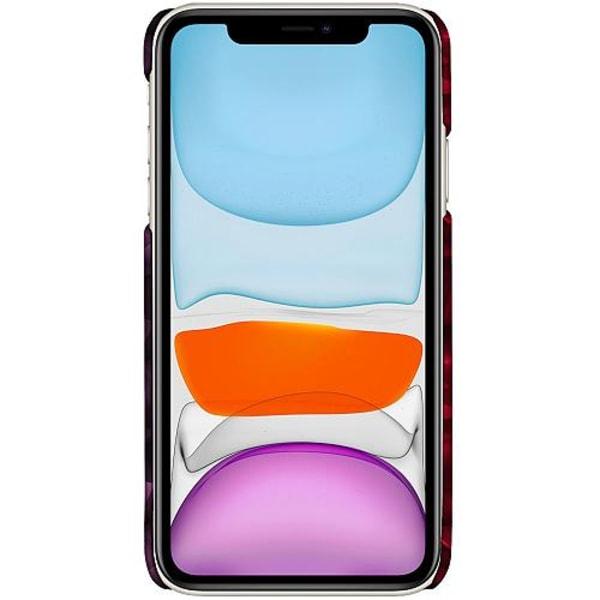 Apple iPhone 12 LUX Mobilskal (Matt) Tempting Red